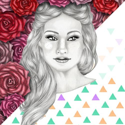 Le vite di Charlotte - la storia di un disegno iniziato coi triangoli e finito con le rose