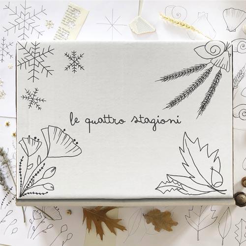Gift box cofanetto de Le Quattro Stagioni