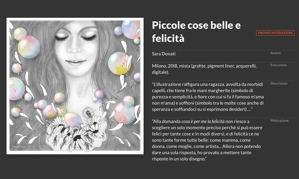 Cose Belle Festival-Premio interazioni contest di illustrazione di Cose Belle Festival 2018