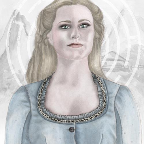 Ritratto di Evan Rachel Wood