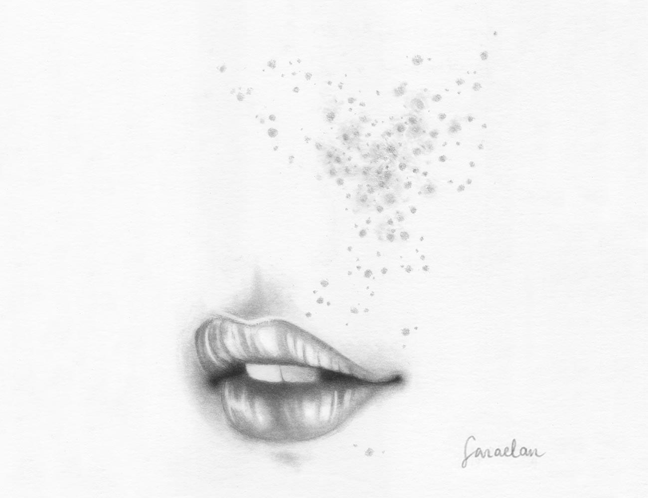 Disegni a matita di Sara Elan Donati - Saraelan illustration
