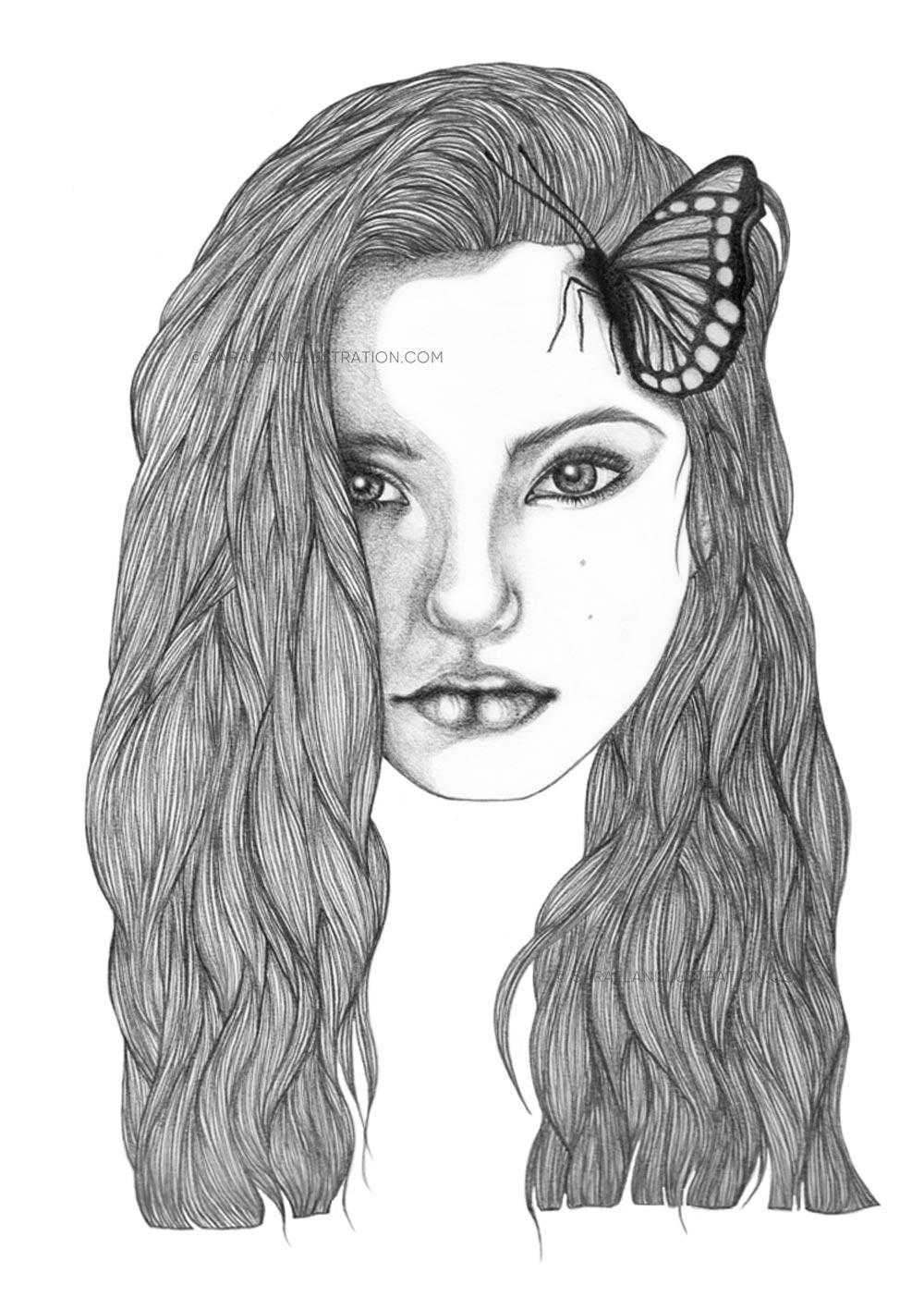 Josephine disegno vecchio a matita