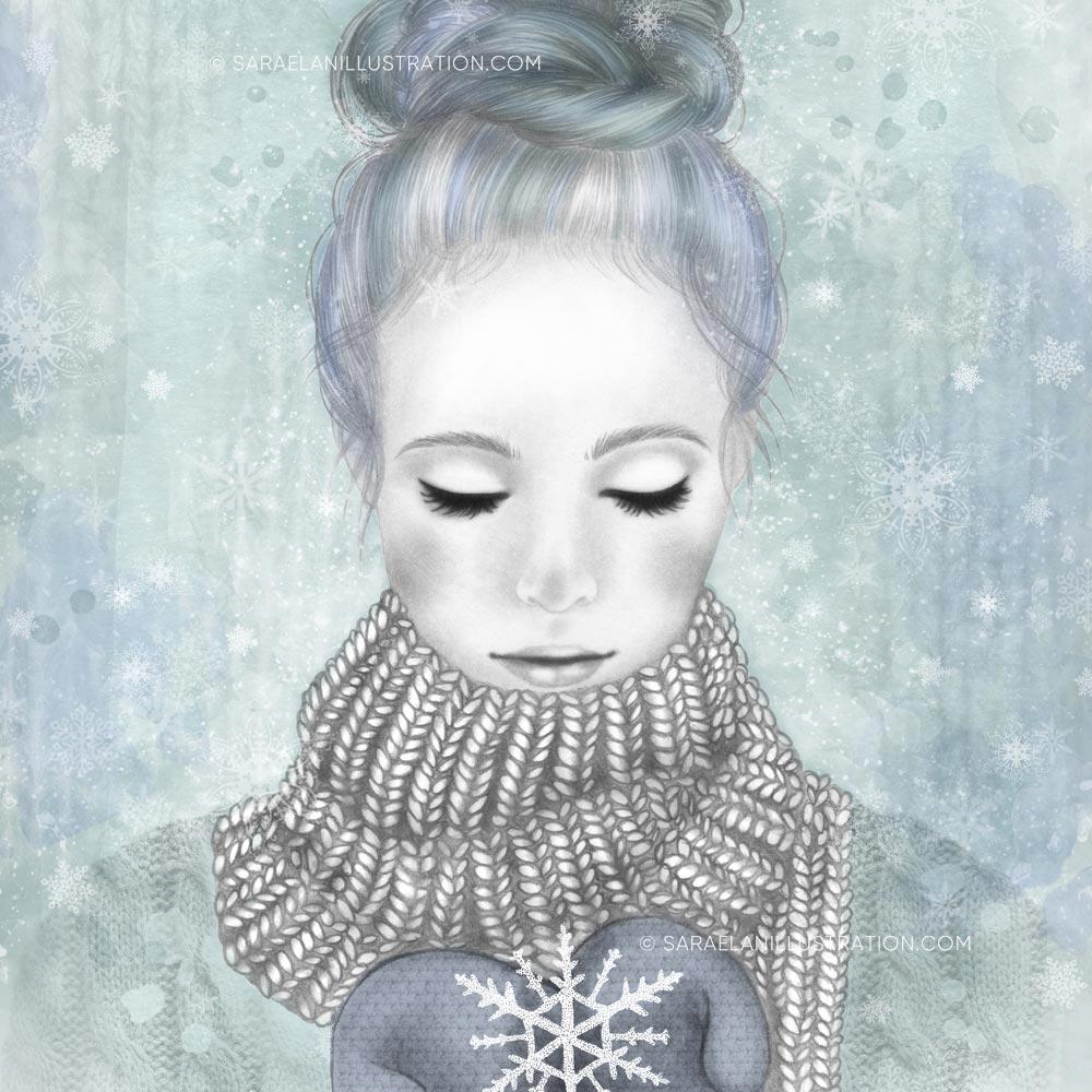 La ragazza inverno