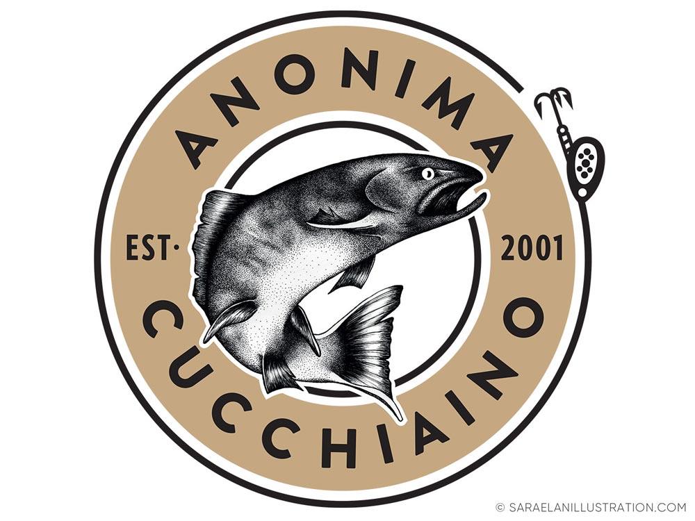 Logo di anonima cucchiaino fatto da Saraelan illustration