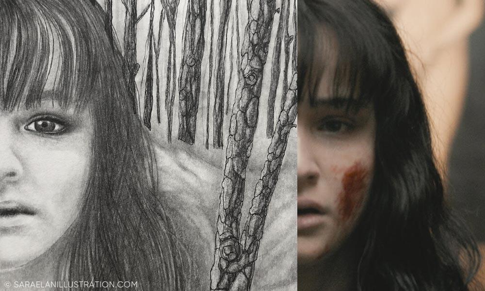 Ritratto di Martha Nielsen di Dark