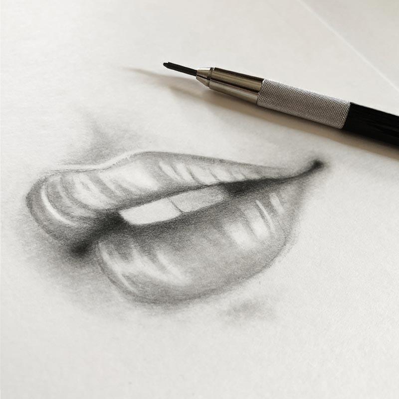 Sara Elan Donati - Saraelan illustration - disegno di bocca