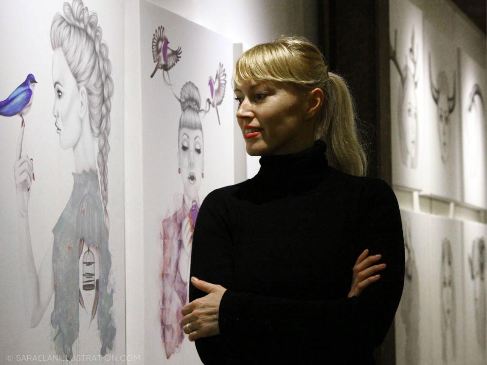 Esposizione di quadri al Frida di Milano di Sara Elan Donati