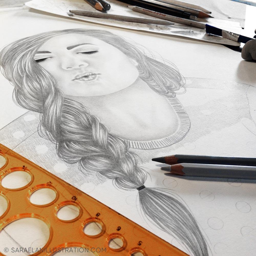 Disegno di Sarinski Sara Puccinelli work in progress