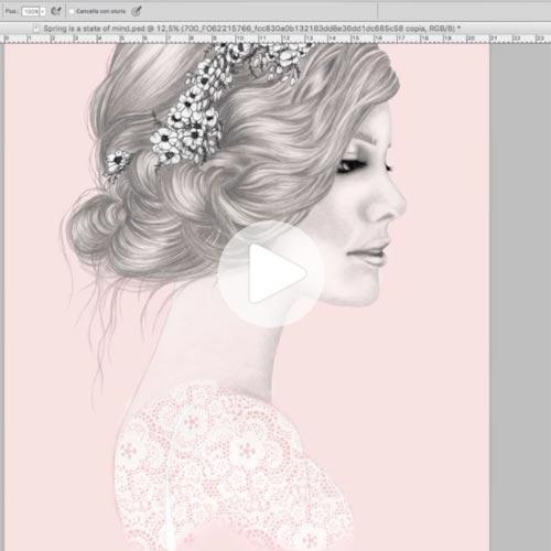 Video di photoshop colorazione digitale
