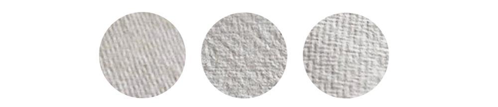 diverse textures dei fogli di carta Khadi Papers